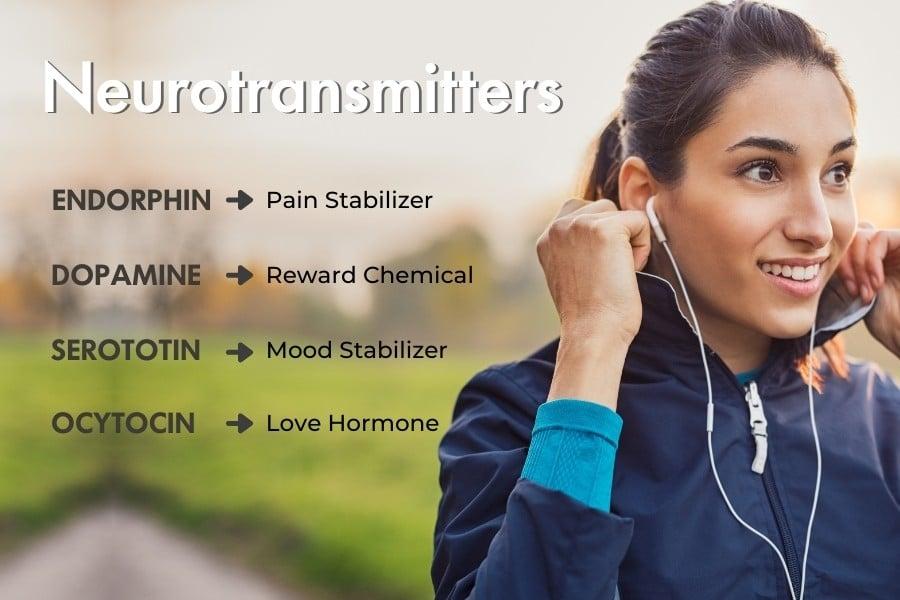 names of neurotransmitters