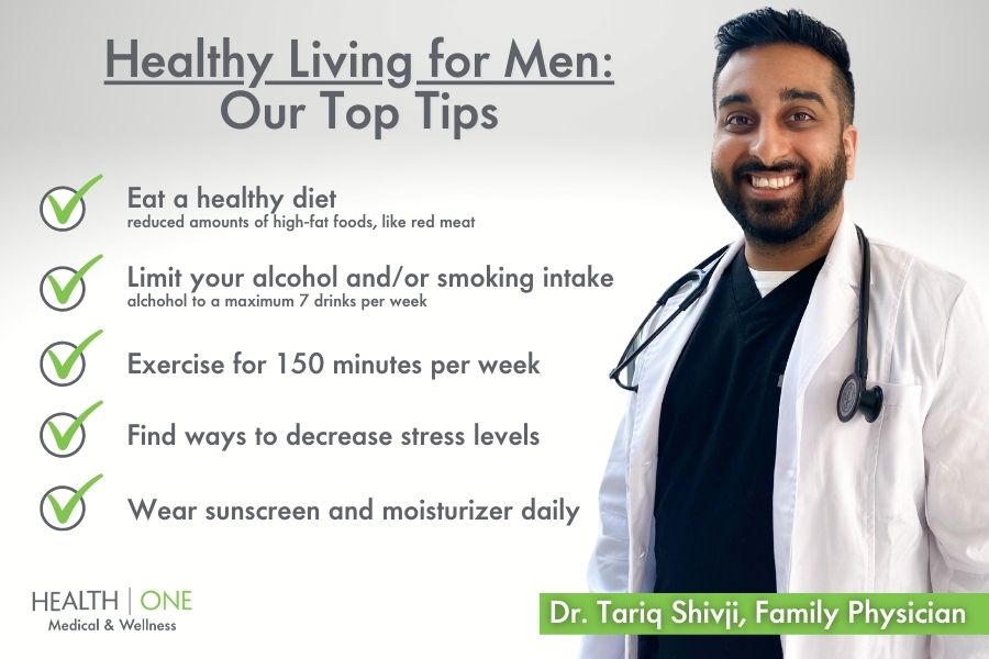 Healthy Living for Men Our Top Tips